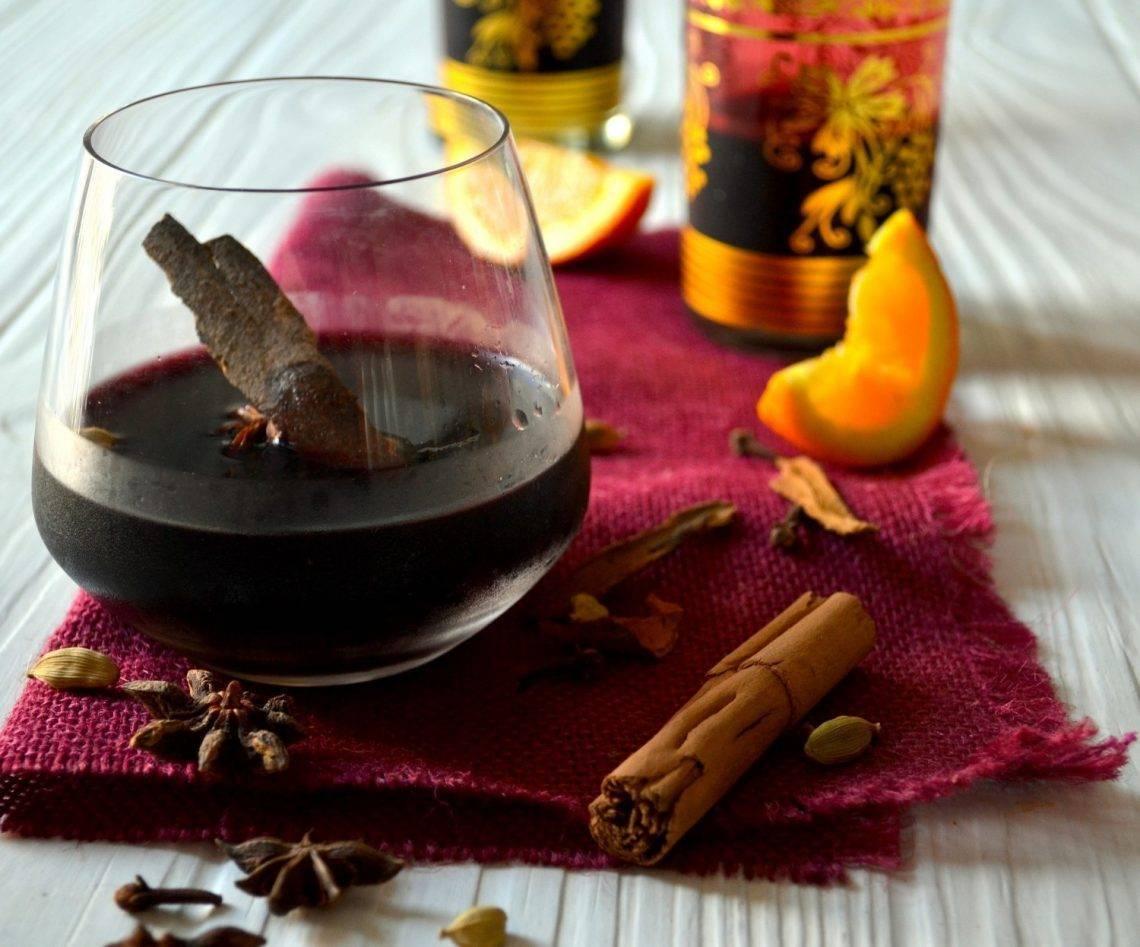 Как приготовить глинтвейн в домашних условиях: рецепт с фото пошагово