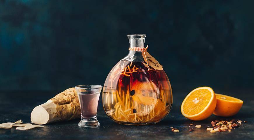 Хреновуха на самогоне: рецепт одной из самых классических настоек