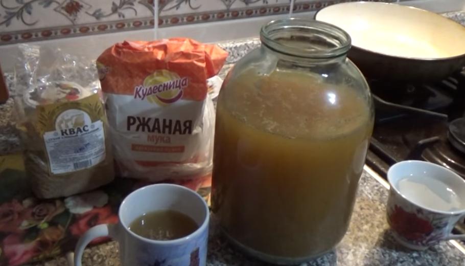 Ячменный квас без дрожжей, пошаговый рецепт приготовления с фото