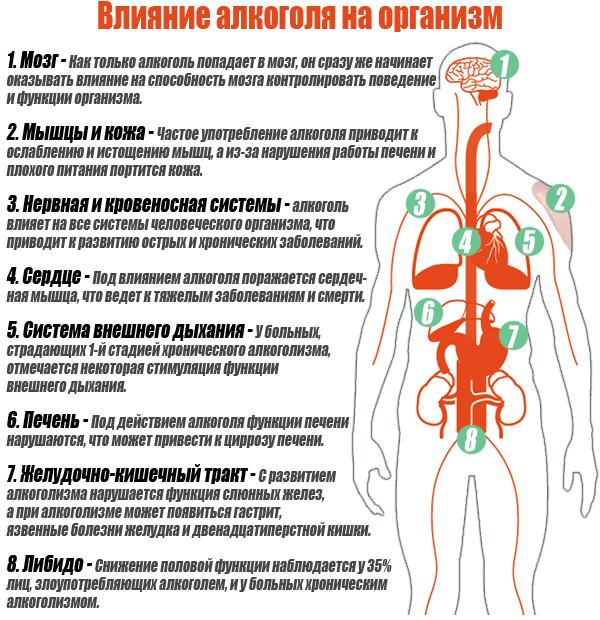 Последствия кодирования от алкоголизма: что происходит с организмом человека