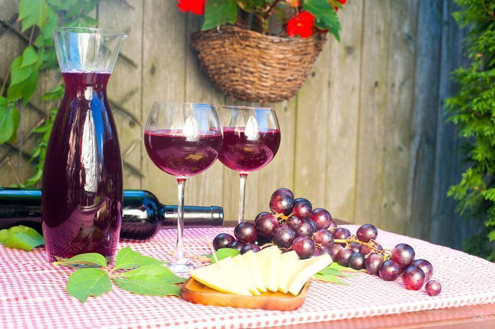 Как приготовить домашнее вино из винограда (красного или белого)