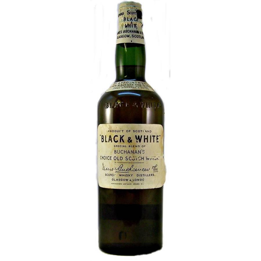 Виски блэк & вайт: история и обзор напитка