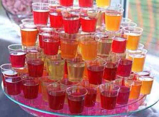 Алкогольные десерты прямиком к праздничному столу . тут забавно !!!