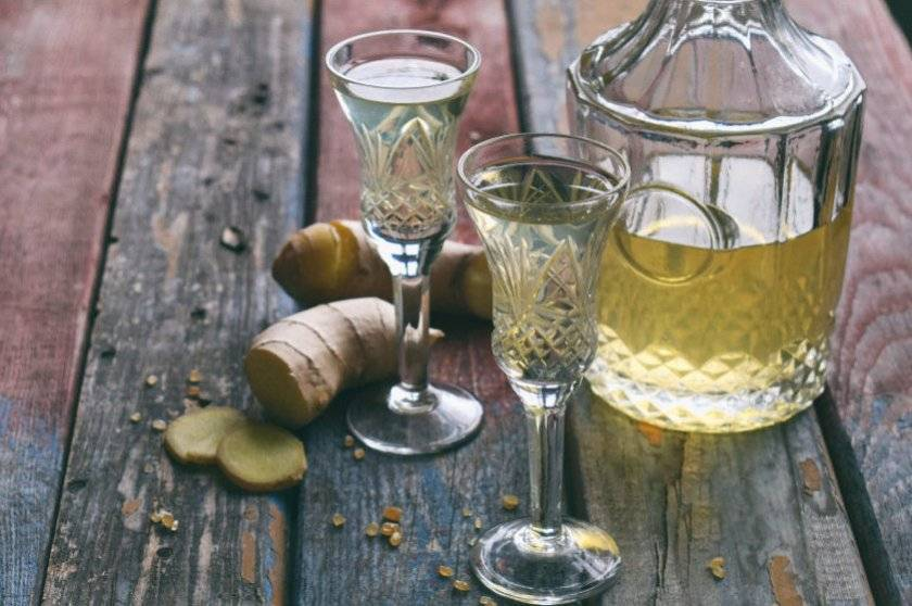 Имбирная настойка на водке – самые лучшие рецепты