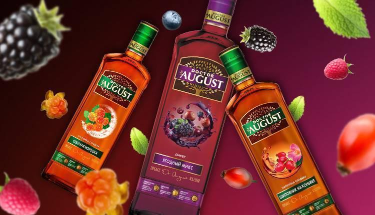 Doctor august настойка — история алкоголя