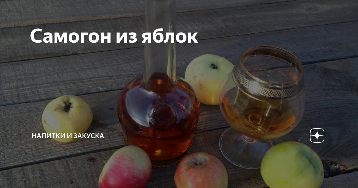 Как сделать брагу из яблок – когда некуда девать урожаи