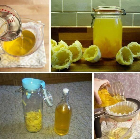 Лимонный самогон в домашних условиях – секреты приготовления