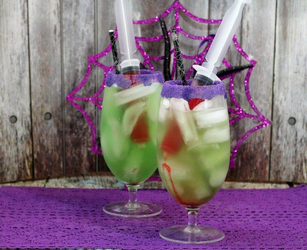 Простые коктейли на хэллоуин алкогольные. зловещие безалкогольные коктейли на хэллоуин