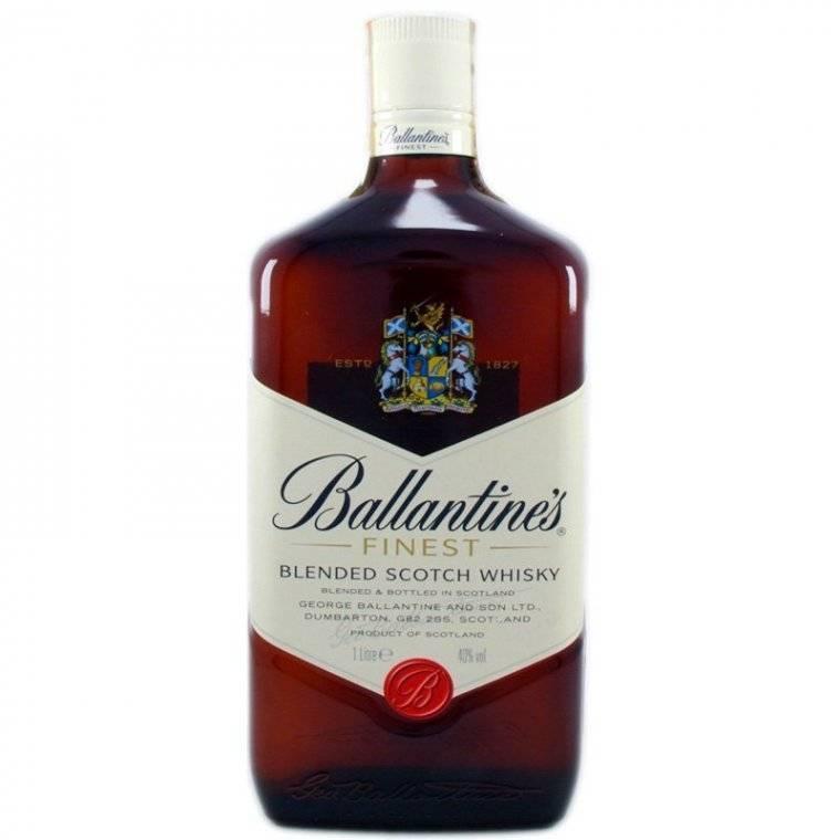 Виски ballantine's (баллантайнс) или шотландский скотч №1 в европе