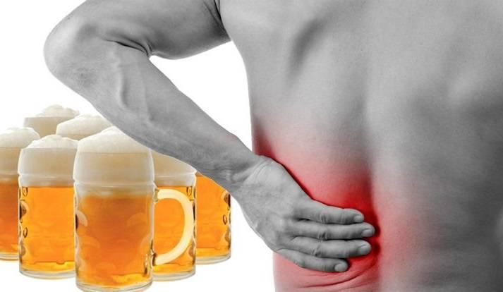 Болят почки после алкоголя: как лечить, что делать, как почистить