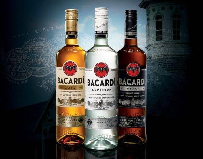 Ром бакарди - как пить этот изысканный и популярный напиток?