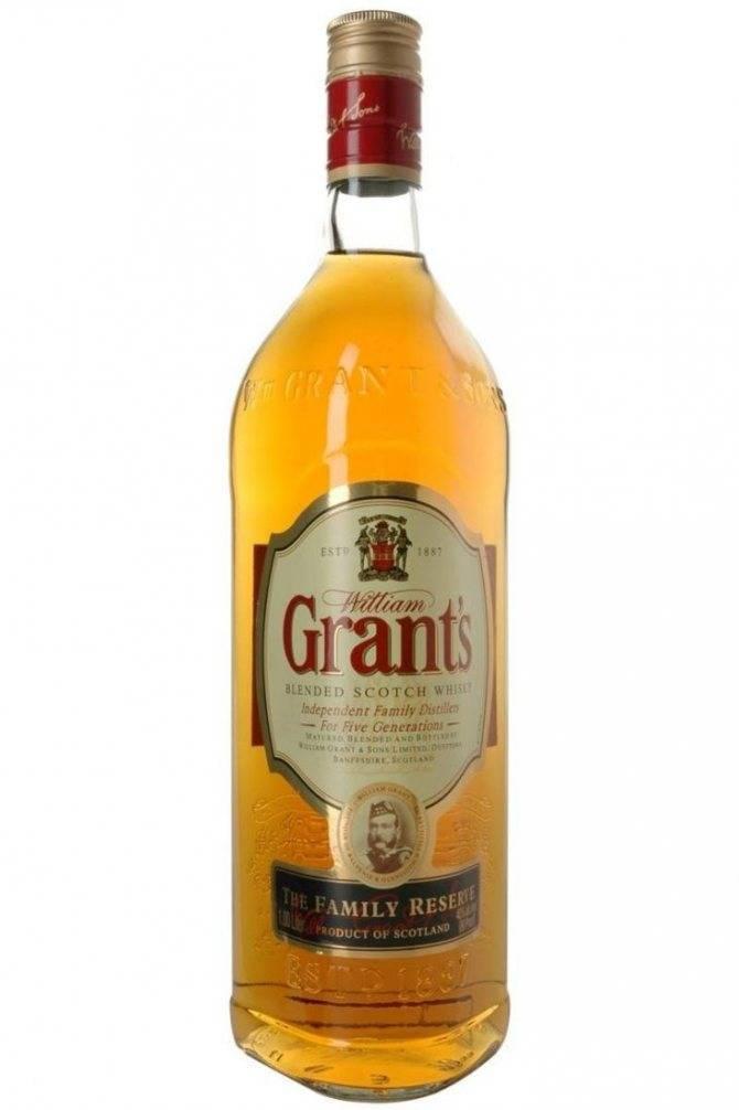 Виски grant's (грантс): описание, виды, история марки
