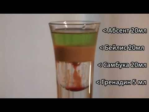 Рецепты приготовления коктейля хиросима