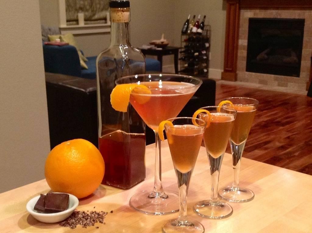 Апельсиновый ликер в домашних условиях: рецепт на водке