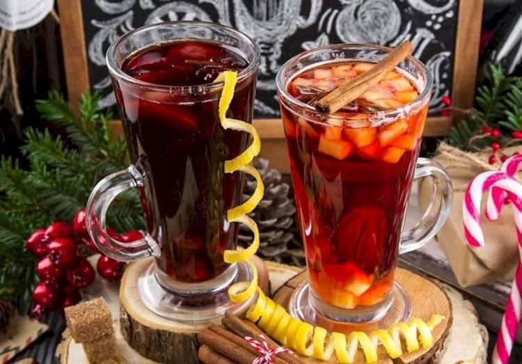 Безалкогольный глинтвейн или альтернатива согревающему напитку