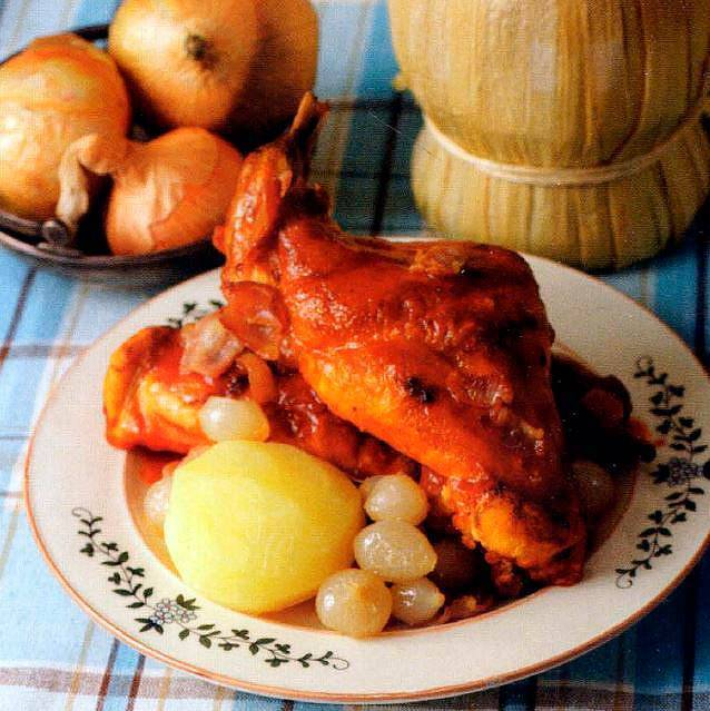Кролик в вине / блюда из кролика / tvcook: пошаговые рецепты с фото