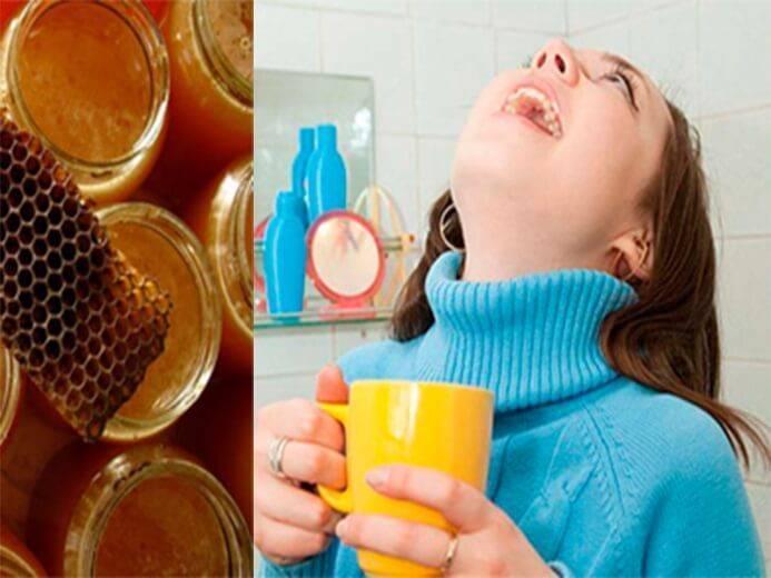 Полоскание горла водкой при ангине