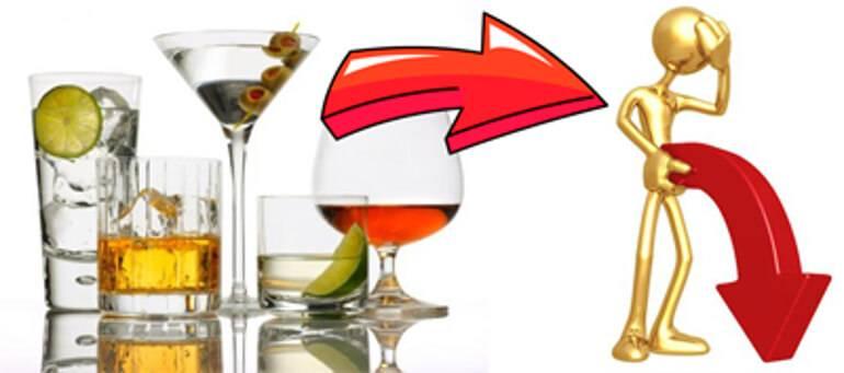 Алкоголь и потенция: виды спиртных влияющих на потенцию