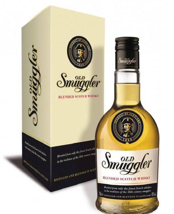 Виски old smuggler - изысканный букет для любителей классики