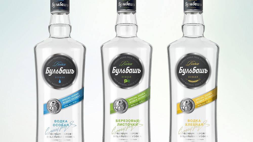 Белорусская водка бульбаш