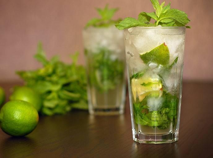 Как и с чем пьют мохито
