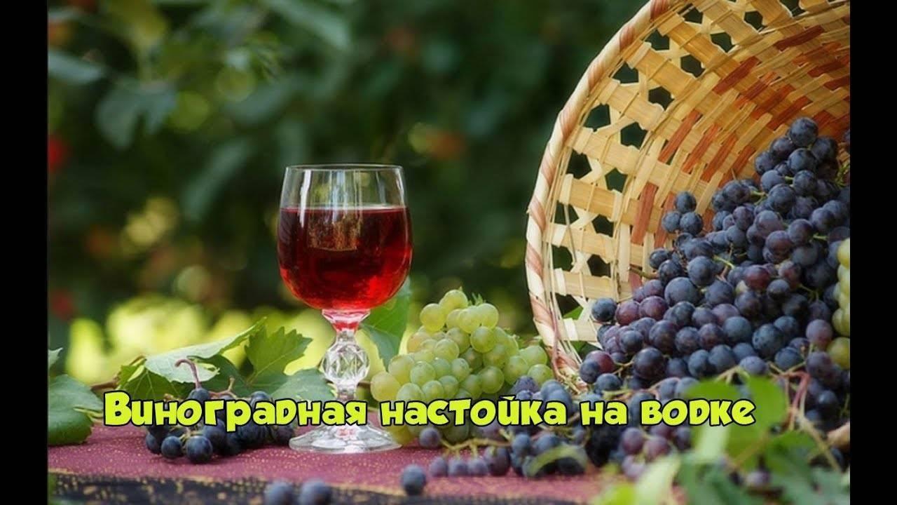 Домашняя виноградная наливка. потому что просто.