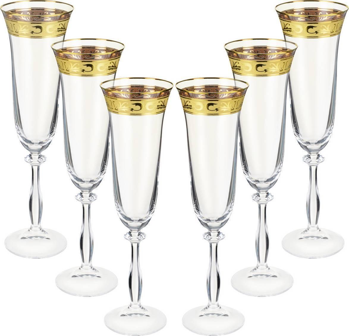 Бокалы для шампанского — как называются и как держать