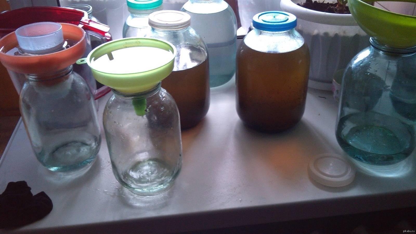 Можно ли очищать самогон марганцовкой? — нет! – как правильно пить