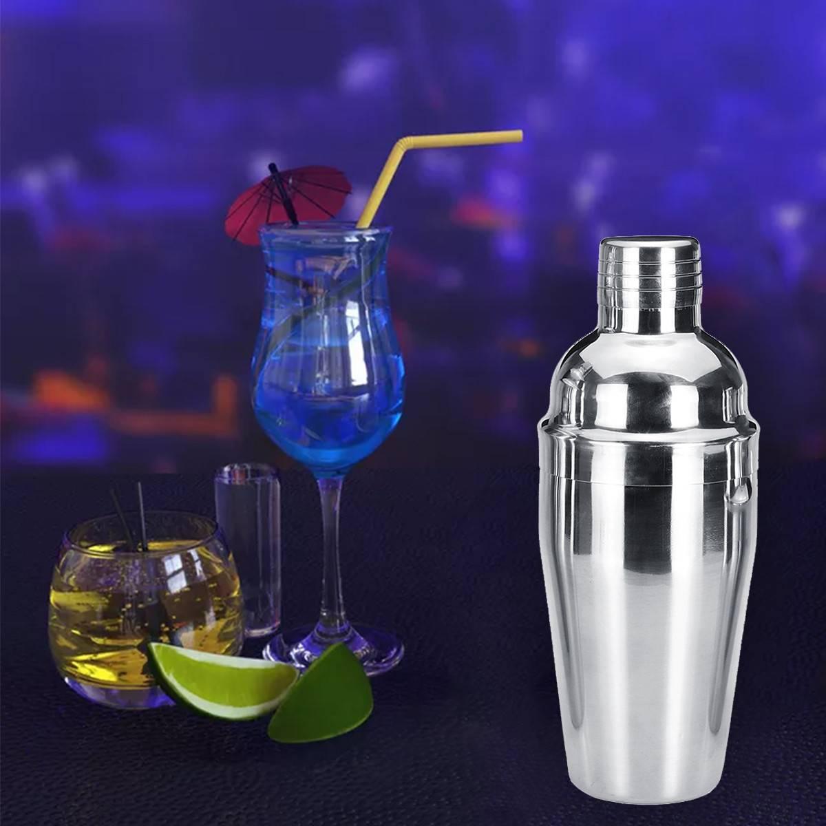 Шейкер для коктейлей, виды, материалы, объем, нюансы использования