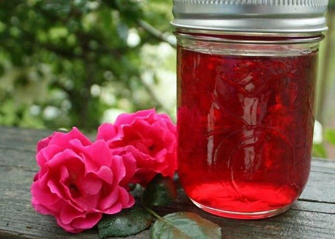 Варенье из лепестков роз