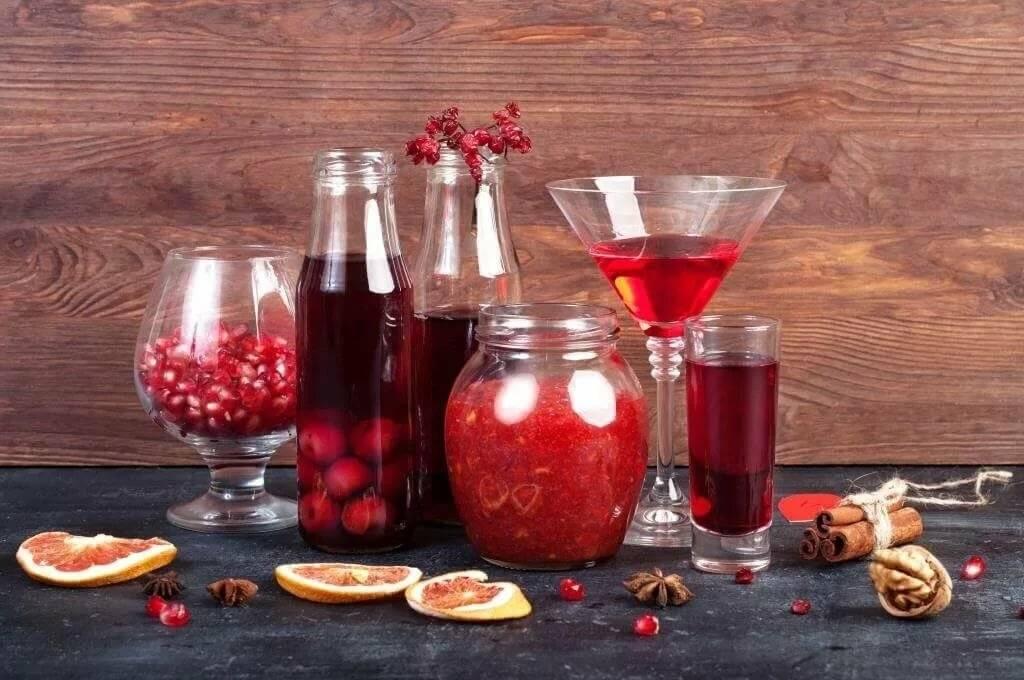 Домашнее вино, ликер, наливка и настойка из калины: лучшие рецепты