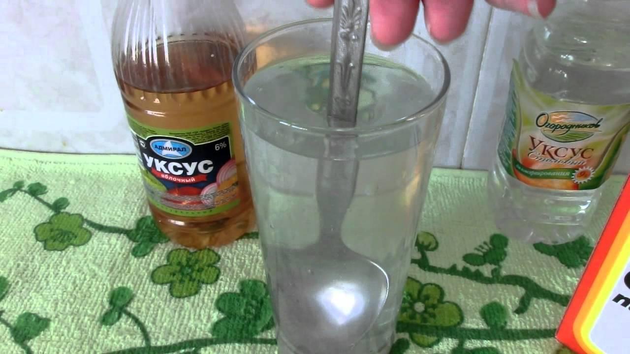 Шипучка из соды, уксуса, лимонной кислоты — как сделать дома