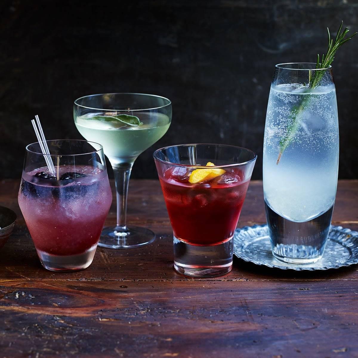 6 коктейлей на основе джина для идеального отдыха после работы