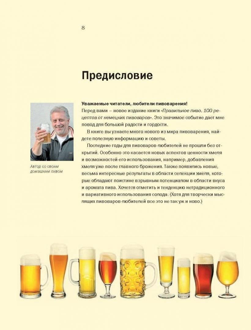 Лучшие рецепты пива для домашней пивоварни