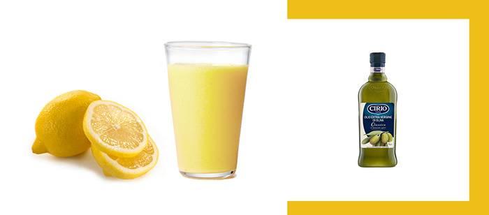 Способчистки печени оливковым маслом и лимонным соком