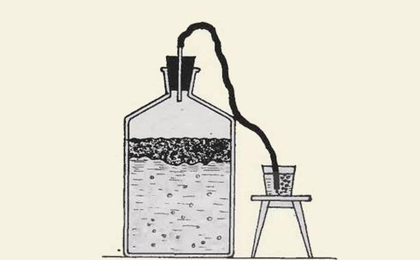 Выбор и использование гидрозатвора для брожения в самогоноварении
