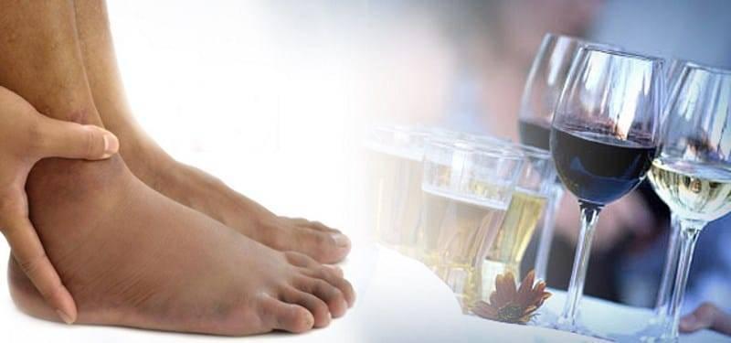 Болят ноги после алкоголя: причины, что делать