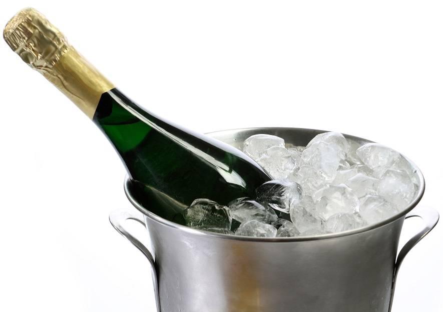 При какой температуре обычно замерзает шампанское в бутылке - продукталко