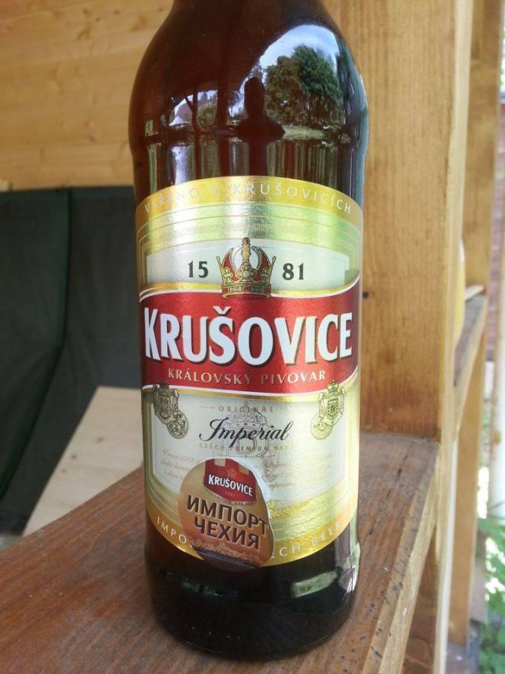 Пиво крушовице и его особенности