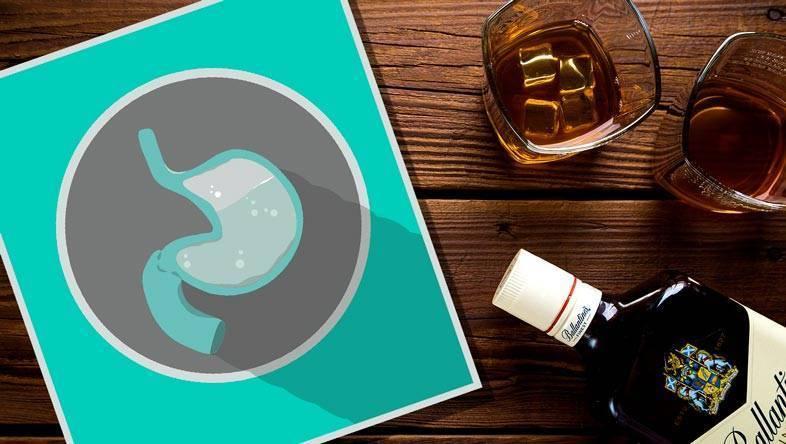Можно ли употреблять алкоголь при гастрите