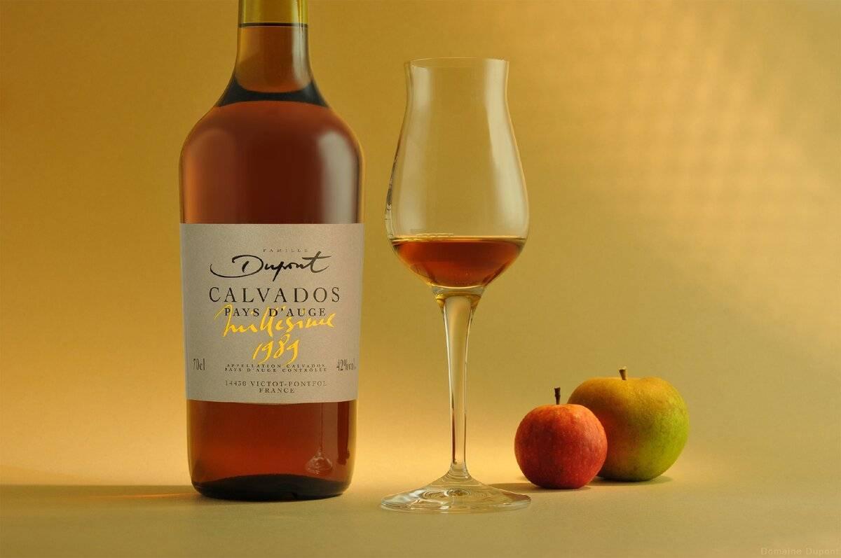 Кальвадос яблочная водка