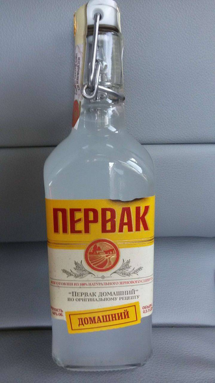 Водка первак — российские производители и рецепты приготовления в домашних условиях