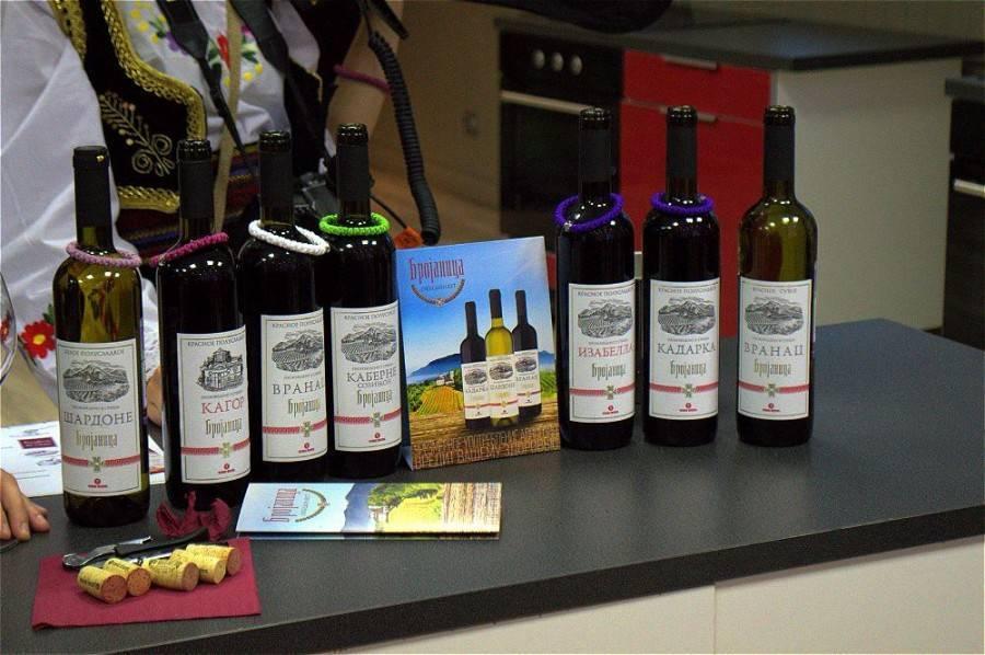 Обзор марок и видов вин болгарии