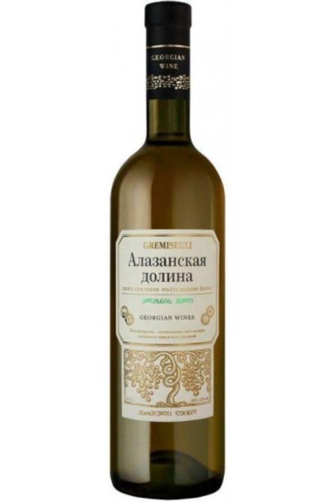 Грузинские вина полусладкие красные, разновидности и описание