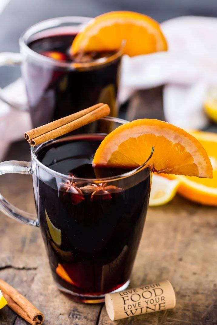 Глинтвейн с апельсином рецепт в домашних условиях