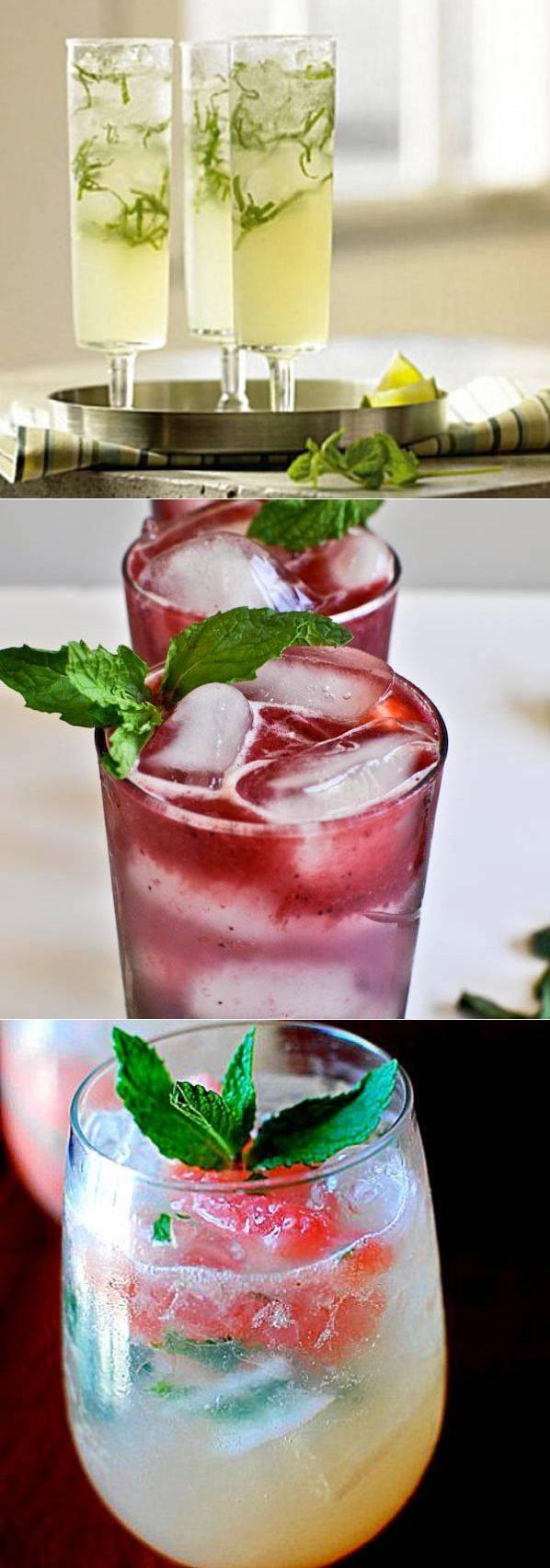 Коктейль мохито безалкогольный