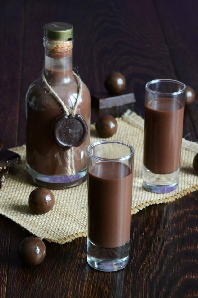 Сливочно-кофейный ликер – кулинарный рецепт