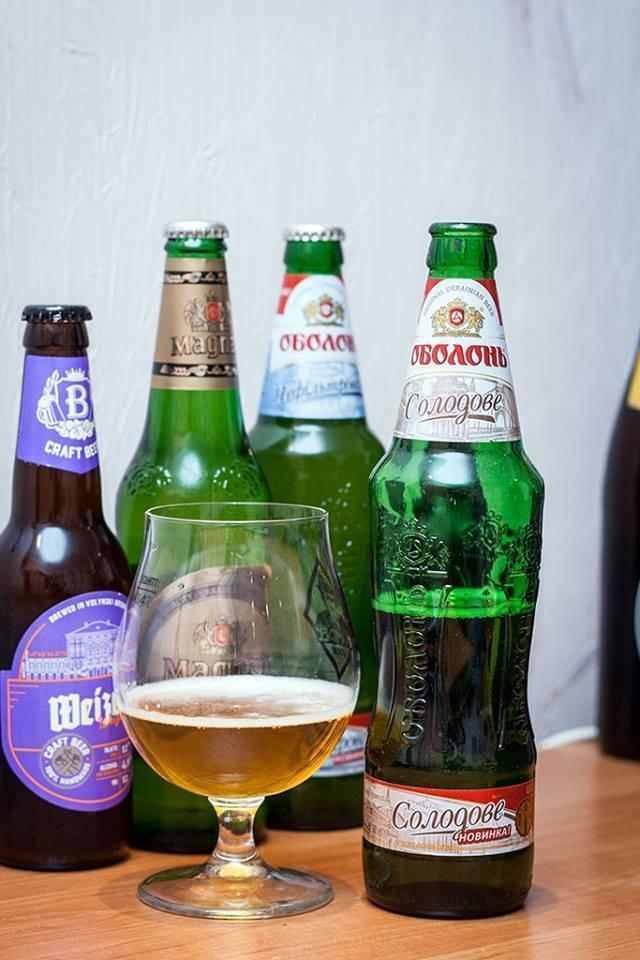 """Оболонские пивовары сократили срок хранения пива """"оболонь светлое"""""""