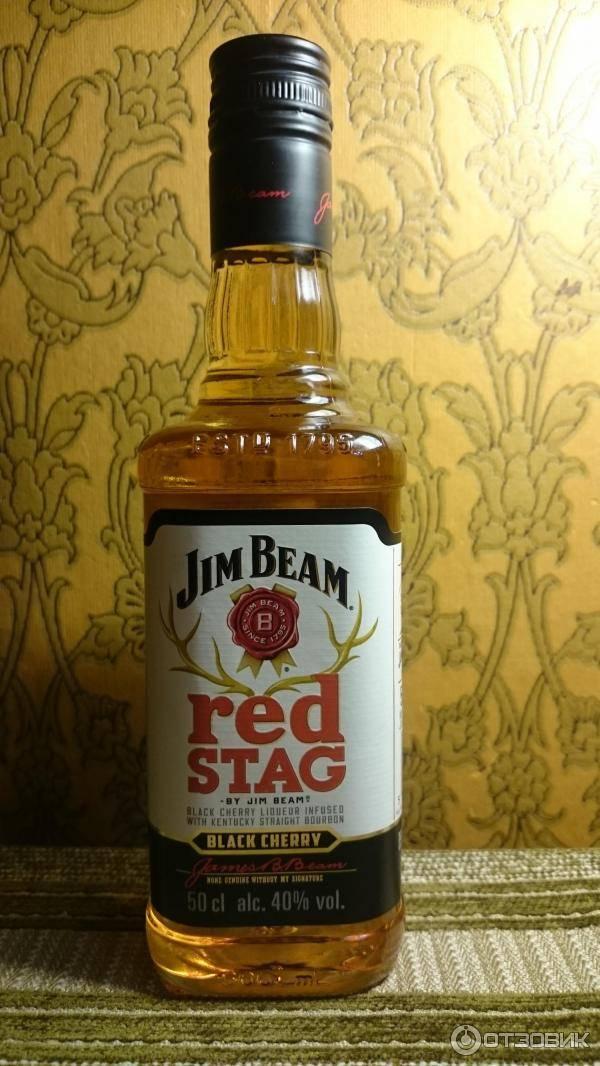 Пробую бурбон jim beam red stag и вам не советую | мир виски | яндекс дзен