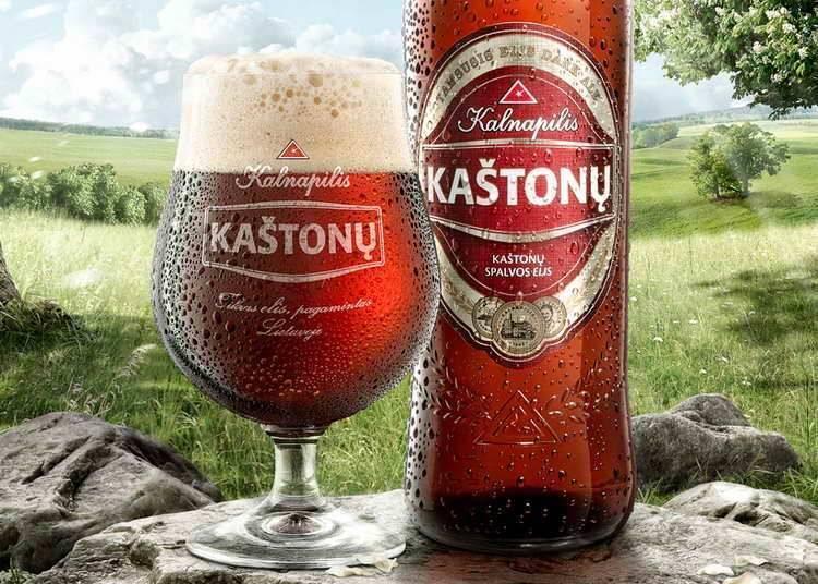 Паб «у шаха»: литовское пиво: kalnapilis, tauras и volfas engelman
